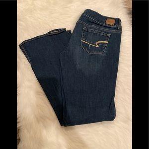 American eagle boot cut jeans 12L